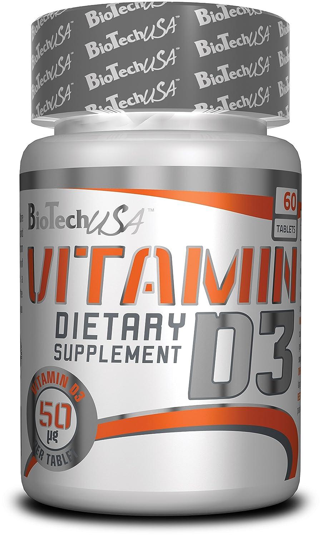 Biotech USA Vitamin D3 Vitaminas y Minerales - 800 gr: Amazon.es: Salud y cuidado personal