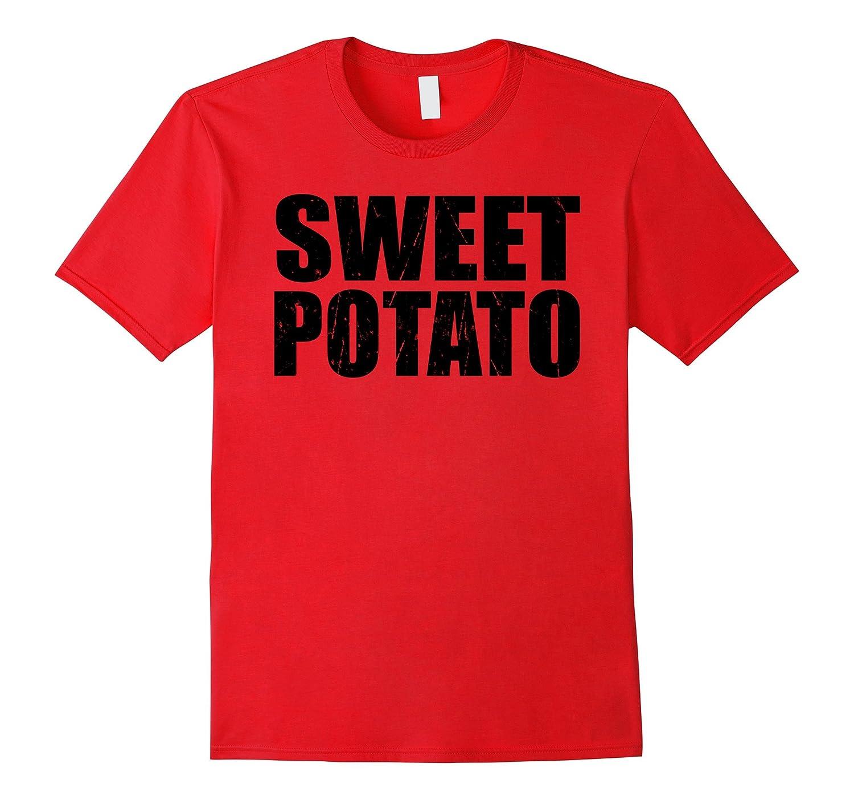 Sweet Potato Funny Christmas T Shirt Gift X Mas Holiday-RT