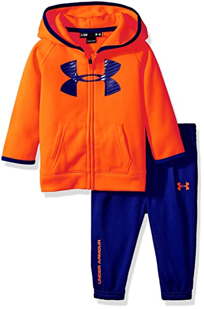 0a1ab0e2 Under Armour Boys' Active Hoodie and Pant Set