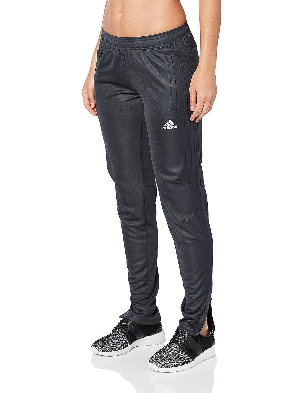 gris foncé blanc XL adidas pour Femme Soccer Tiro 17 Culottes d'apprentissage