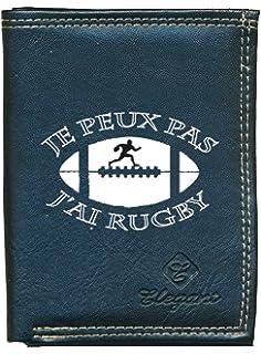 Bolsa de Aseo de balón de Rugby de Piel Vintage.: Amazon.es ...