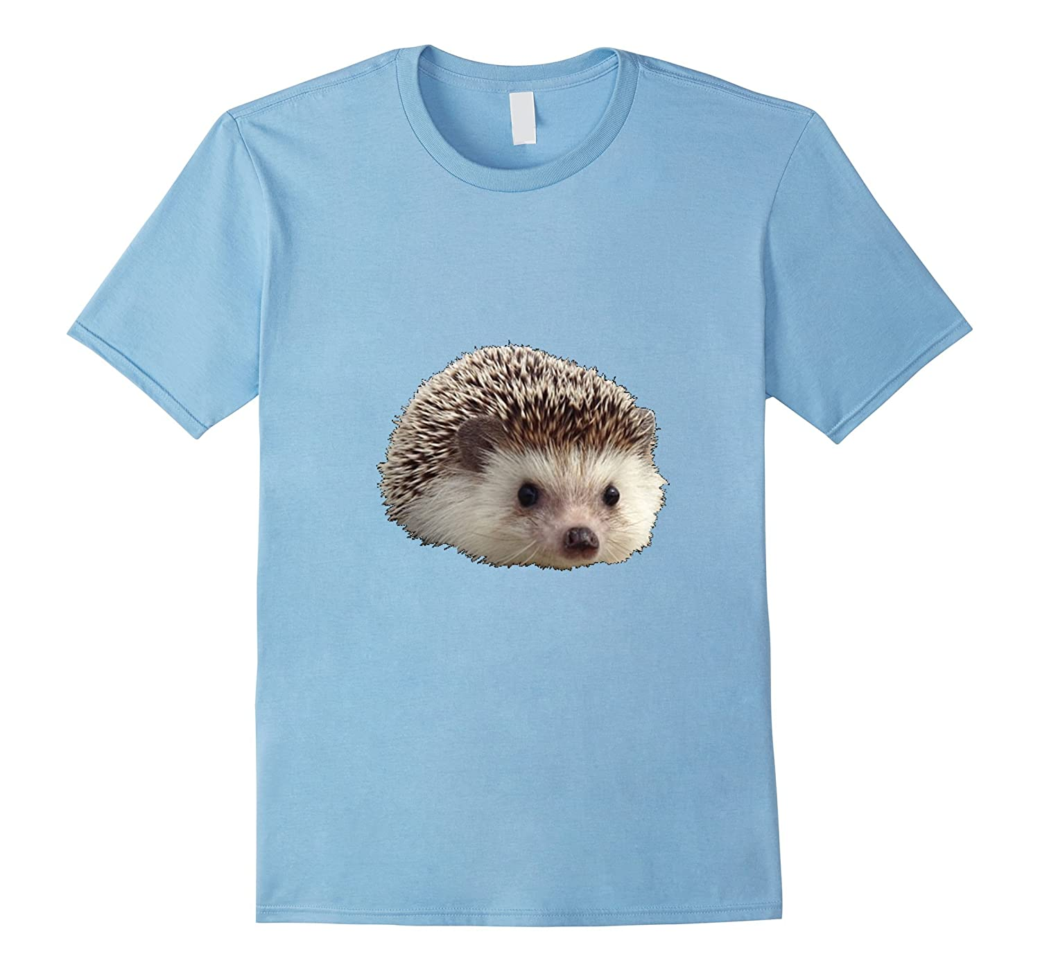 Cute Adorable Realistic Hedgehog T-Shirt-Art – Artvinatee