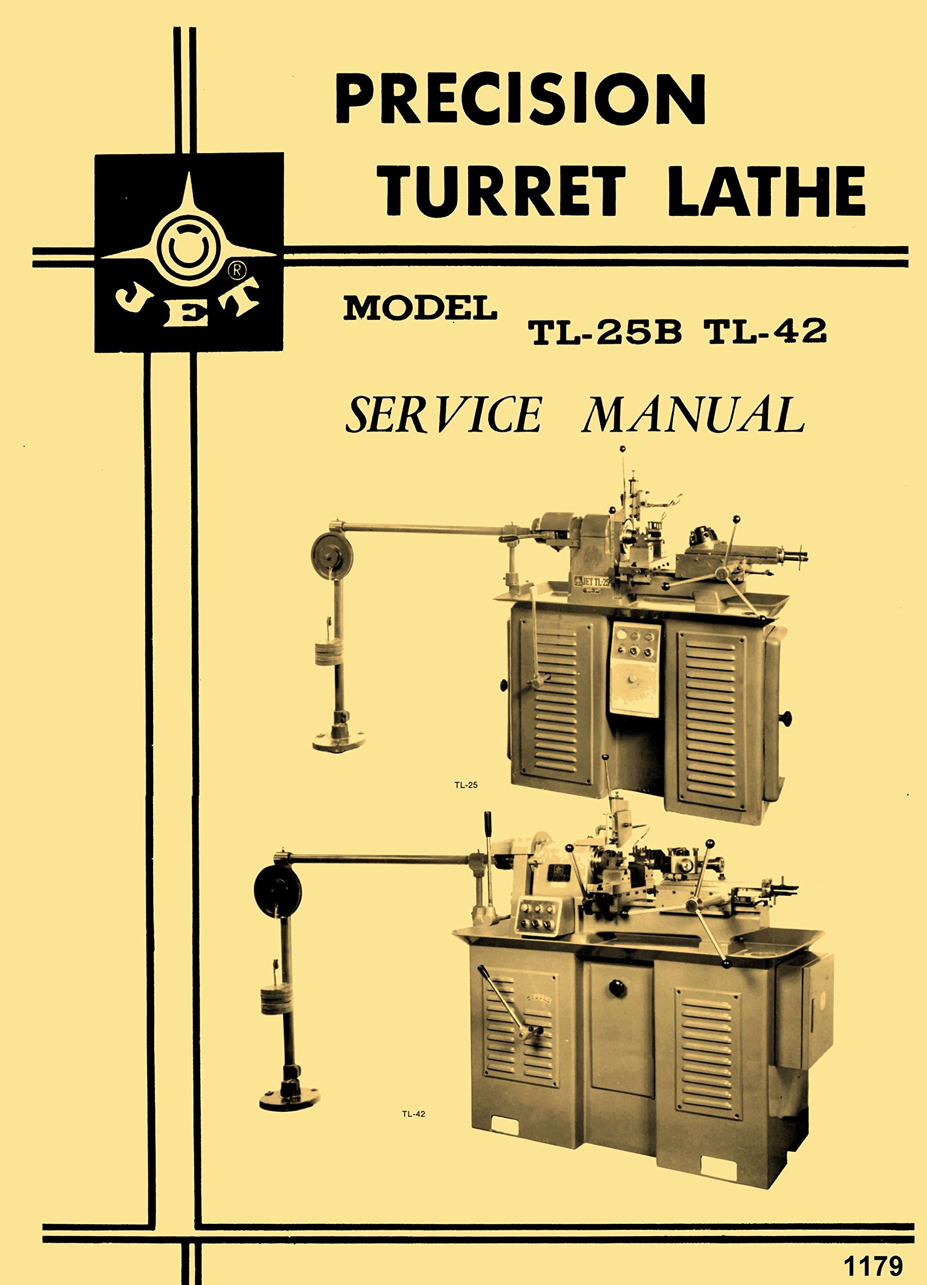 JET, Enco, MSC, Super-Precision, Asian Turret Lathe LHT, TL, 92040  Instructions & Parts Manual: Misc.: Amazon.com: Books