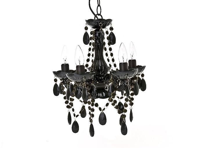 Present Time - Lámpara de techo chandelier Gypsy, 5 brazos ...