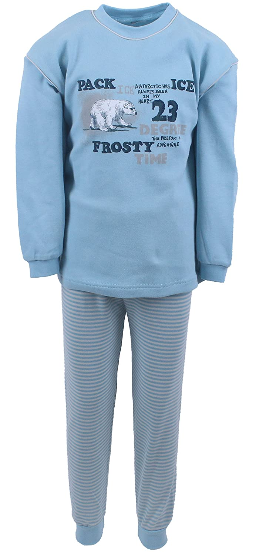 Pijamas niños 2 piezas Interlock, Frosty color azul hielo, tallas 80-116: Amazon.es: Ropa y accesorios