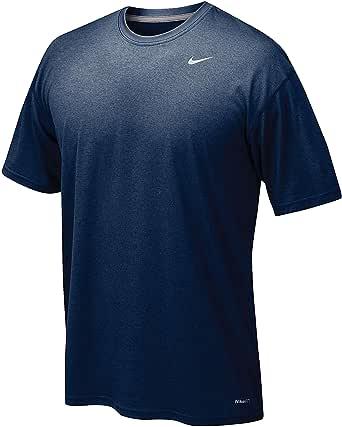 Nike Dri-Fit Short Sleeve Athletic Shirt Dark Blue XL