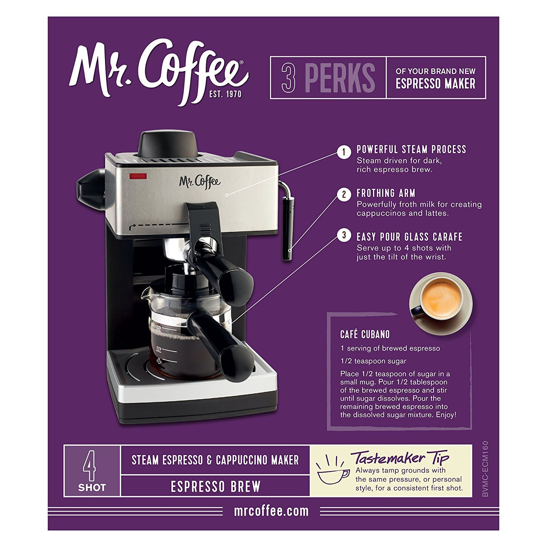 Amazon.com: PREMIUM 4-Cup Espresso/Cappuccino Maker máquina ...