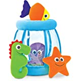 Melissa & Doug Deluxe Fishbowl Fill and Spill Soft Baby Toy