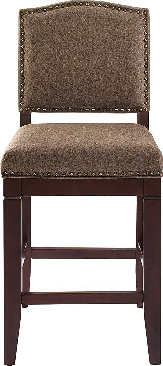 Amazoncom Crosley Furniture Cf521926es Bo Bryson Counter Stool 27