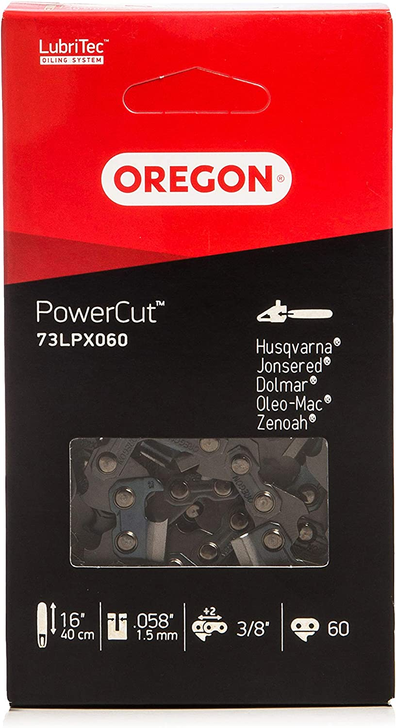 Oregon 73LPX060E - Cadena, anillo: 1.5 mm, eslabones: 60