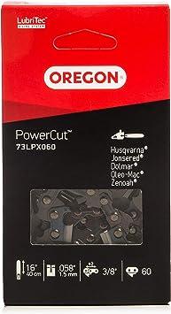 Oregon 73LPX060E - Cadena, anillo: 1.5 mm, eslabones: 60