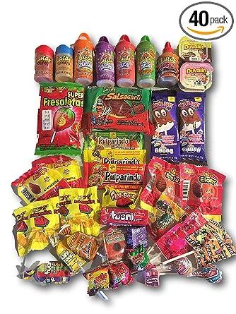 Paquete de cuidado de caramelos mexicanos de AtHomePlus (40 ...