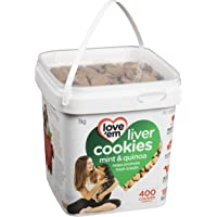love'em Beef, Mint Quinoa Mini-Cookies Tub 1kg