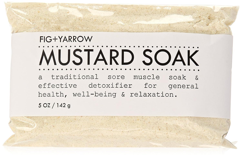 FIG+YARROW Organic Mustard Soak