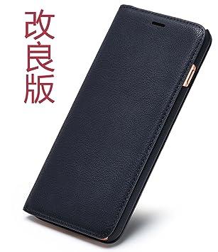 7b5ade8dac Amazon | Tindon iPhoneX/XS ケース 手帳型 レザー 革 薄 アイフォンX/XS ...