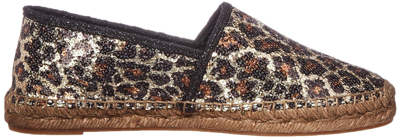 Marc Jacobs Wohnungen Sienna Espadrille Textile Ballett Wohnungen Jacobs Gold/Multi 903776