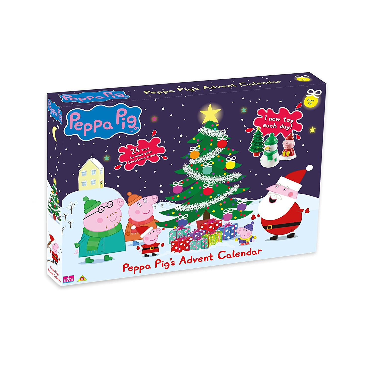 Peppa Pig Advent Calendar Character Options 06850