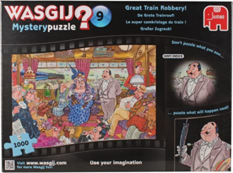 Image result for The Great Train Robbery Jigsaw Puzzle