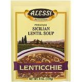 Alessi Lenticchie Sicilian Lentil Soup, 6 Ounce (Pack of 6)