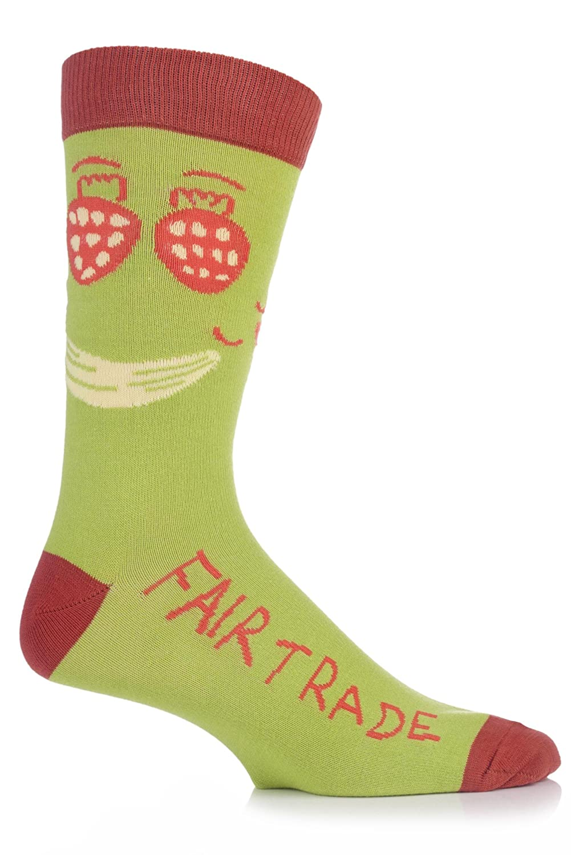 6 Pairs Womens Sockshop Gentle grip socks 4-8 uk,37-42 Climbing rose GG45