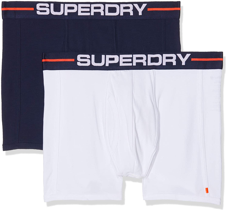 Superdry Herren Slip Sport Boxer Double Pack