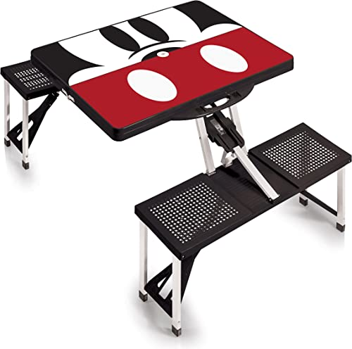 Portable Folding Picnic Table with Seating for 4 [Picnic Time] Picture