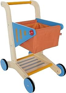 Award Winning HapeKid's Wooden Shopping Cart