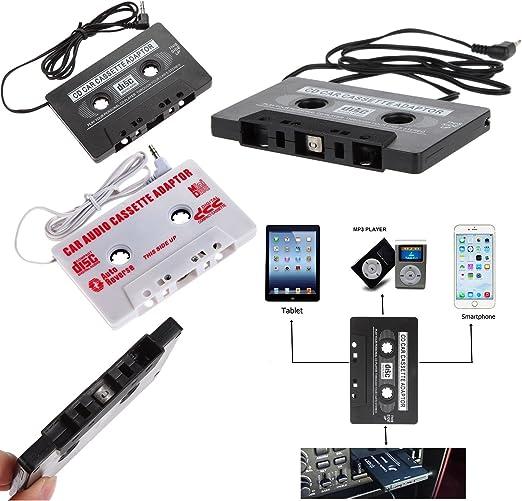 Universal AUX Cartuchos adaptador para música audio Radio estéreo Cable de audio jack de 3,5