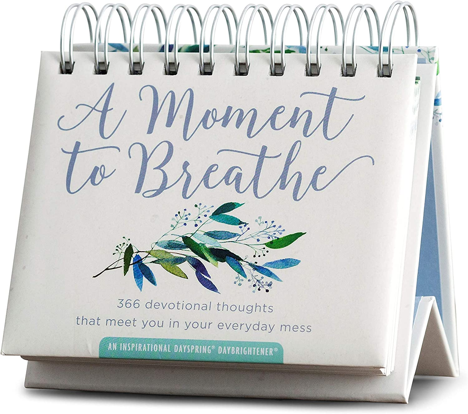 DaySpring - A Moment To Breathe - Perpetual Calendar (90857),White