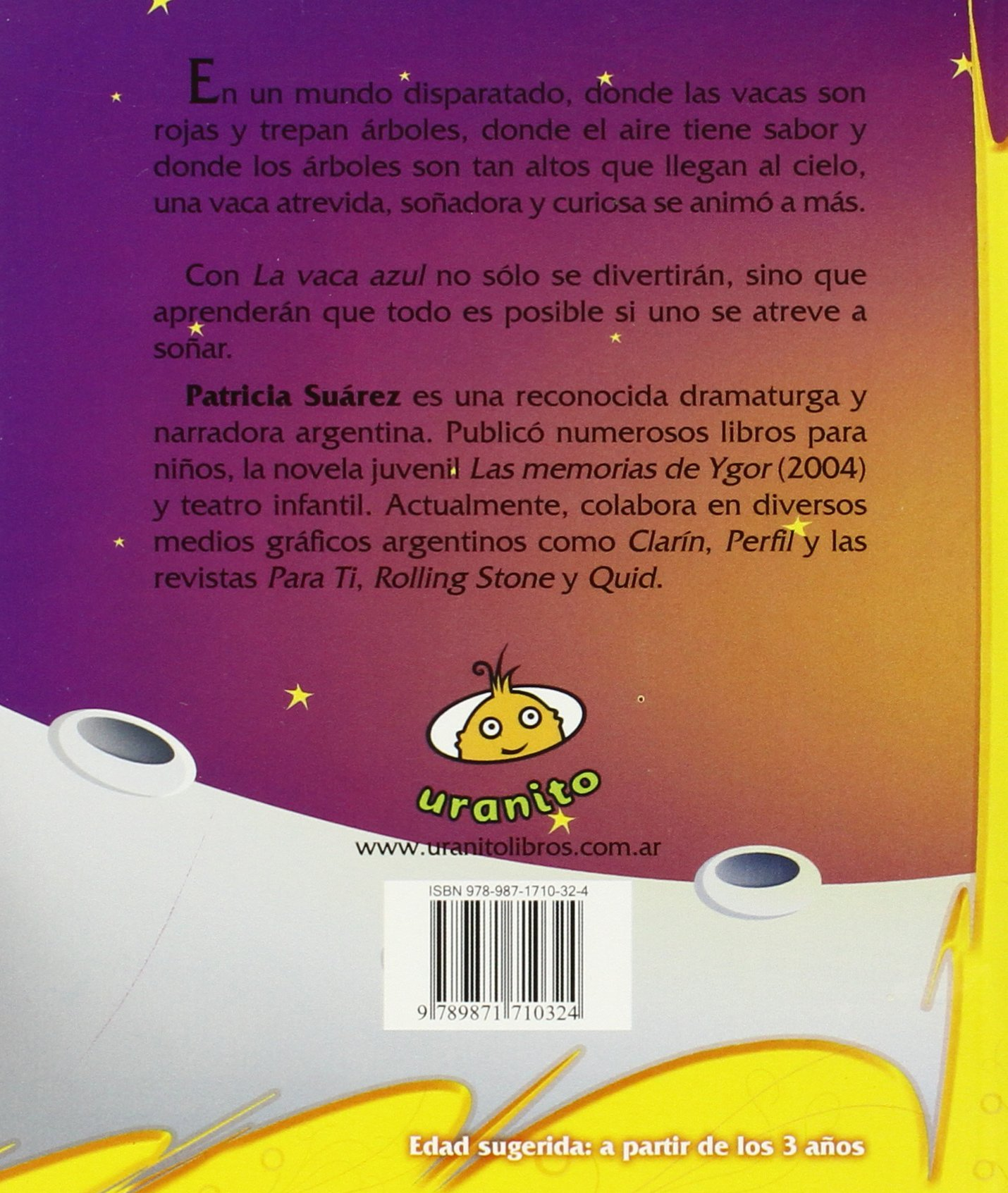 La vaca azul (Spanish Edition): Patricia Suarez: 9789871710324: Amazon.com: Books