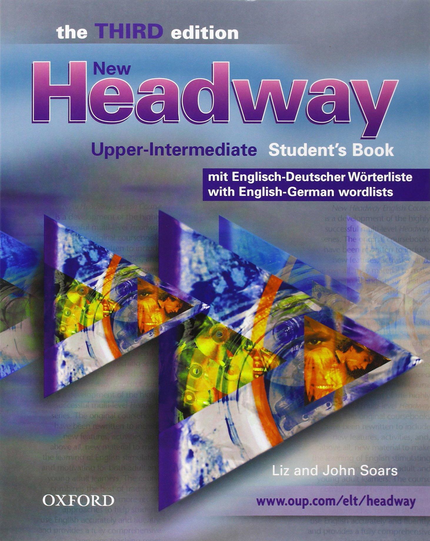 New Headway. Upper-Intermediate. 3rd Edition. German Wordlist Student Book & CD-ROM Pack (German & Swiss Edition)