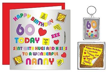 Geburtstagskarte Fur Oma 60 Geburtstag Alphabet Design Mit