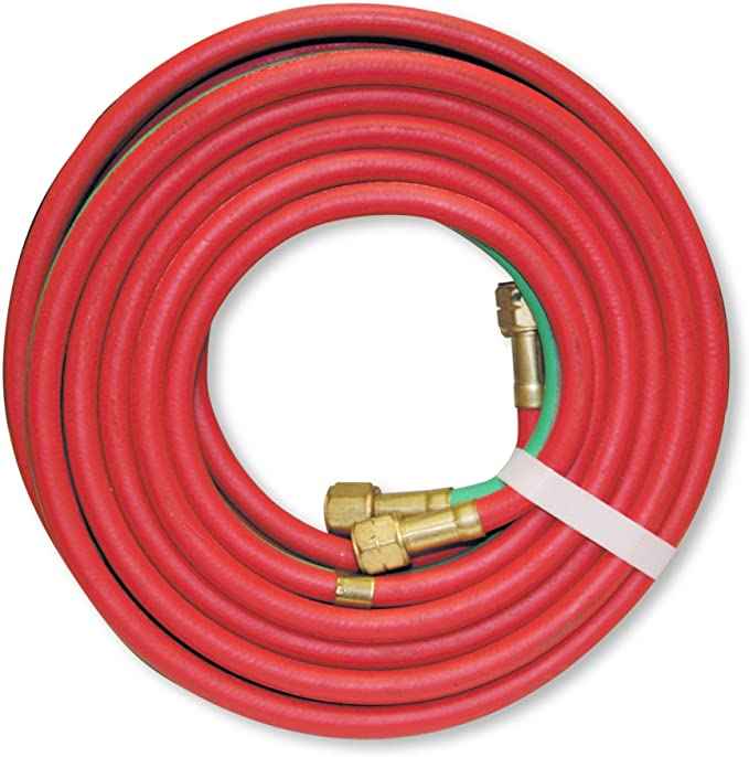 Made in USA 20 x 3//16 Twin Torch//Welding Hose Oxygen Acetylene Grade R