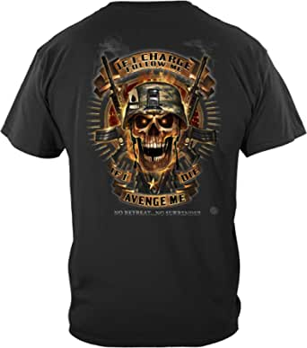 Erazor Bits Skull of Doom Avenge Me T Shirt MM2371