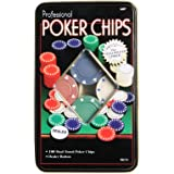 Toyshine Poker Game Set with 100 Chips, Steal Box