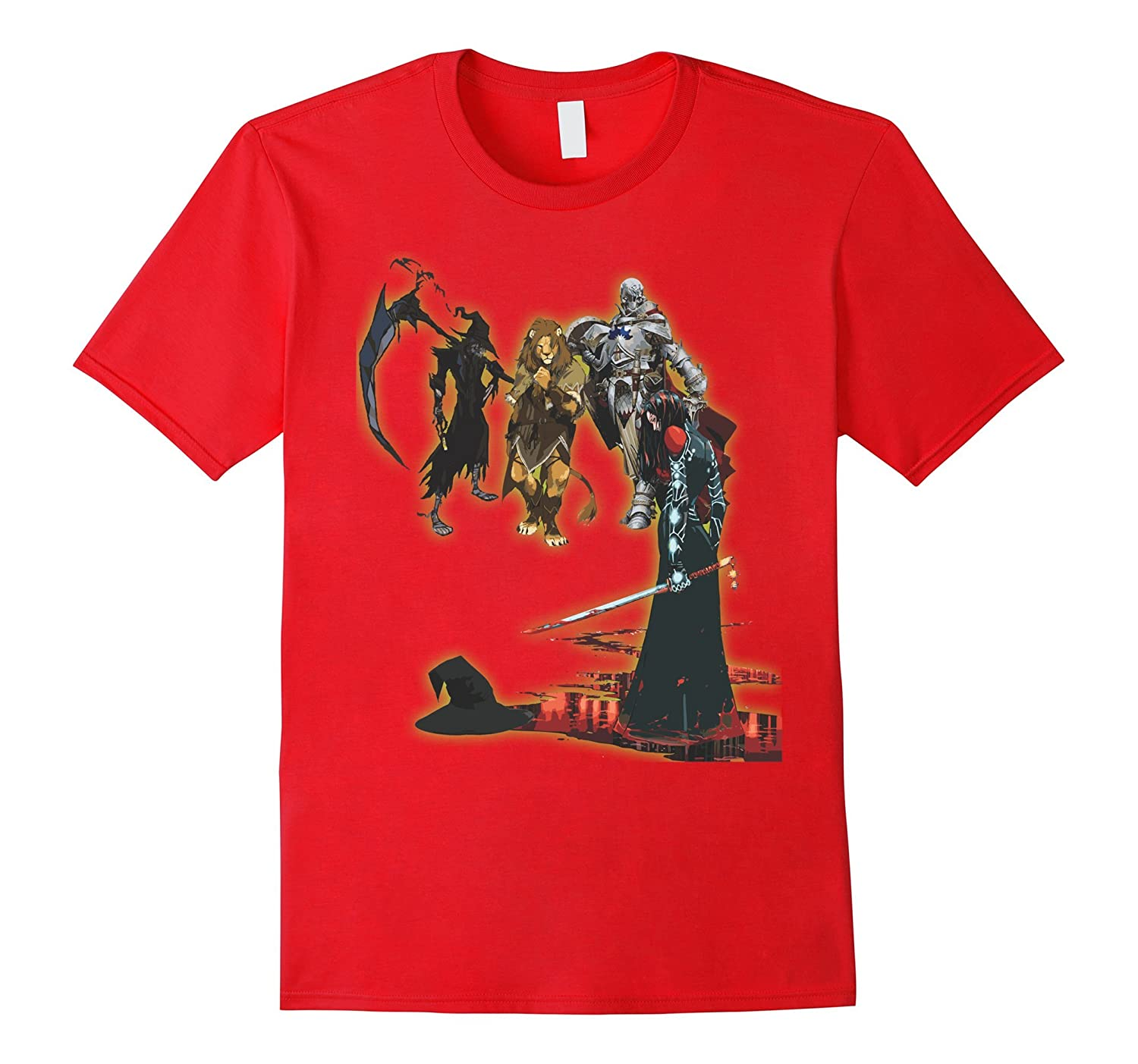 Graphic Novel Style Wicked Death T-Shirt - Literary Amazing-TD