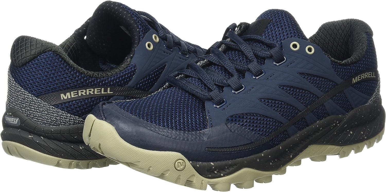 Merrell J91899, Zapatillas de Running Hombre, Azul (Navy), 49 EU: Amazon.es: Zapatos y complementos