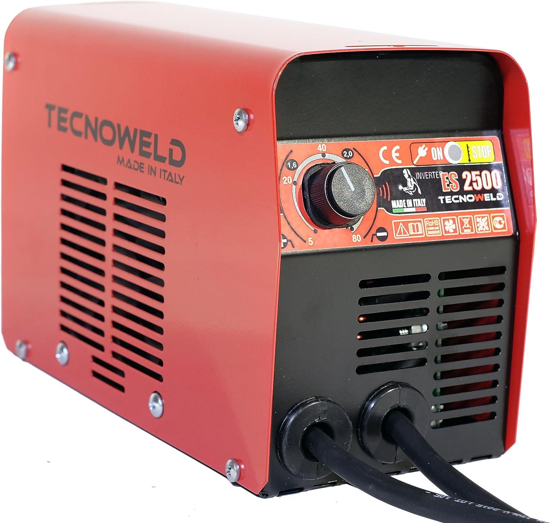 Proweltek-awelco PR1109 - Es 2.500 inversor máquina de soldar con el caso/máscara tiene 80