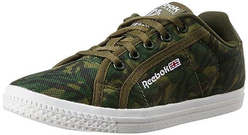 92669ac38f5d69 Reebok Classics Boy s Reebok Court Lp Graphic Green Camo and White ...