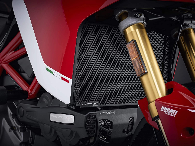 Evotech Performance Ducati Multistrada 1260 S Radiator Oil Cooler Guard Set 2018
