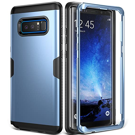 huge discount db200 c53fc Galaxy Note 8 Case, YOUMAKER Full Body Heavy Duty Protection Shockproof  Slim Fit Case Cover for Samsung Galaxy Note 8 (2017 Release) Without  Built-in ...