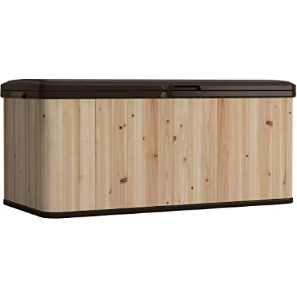 extragrande de la cubierta caja de madera con acabado Resistencia ...