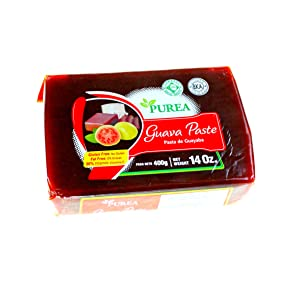 Purea Epicurean Guava Pasta de Guayaba Paste (400g) 14 oz. | Gluten Free, Kosher, Halal | Pack of 2