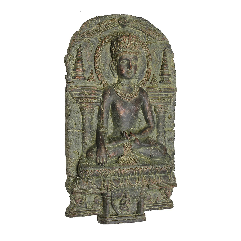 Design Toscano Earth Witness Buddha Wall Sculpture (c. 900-1200 A.D.) EU1004