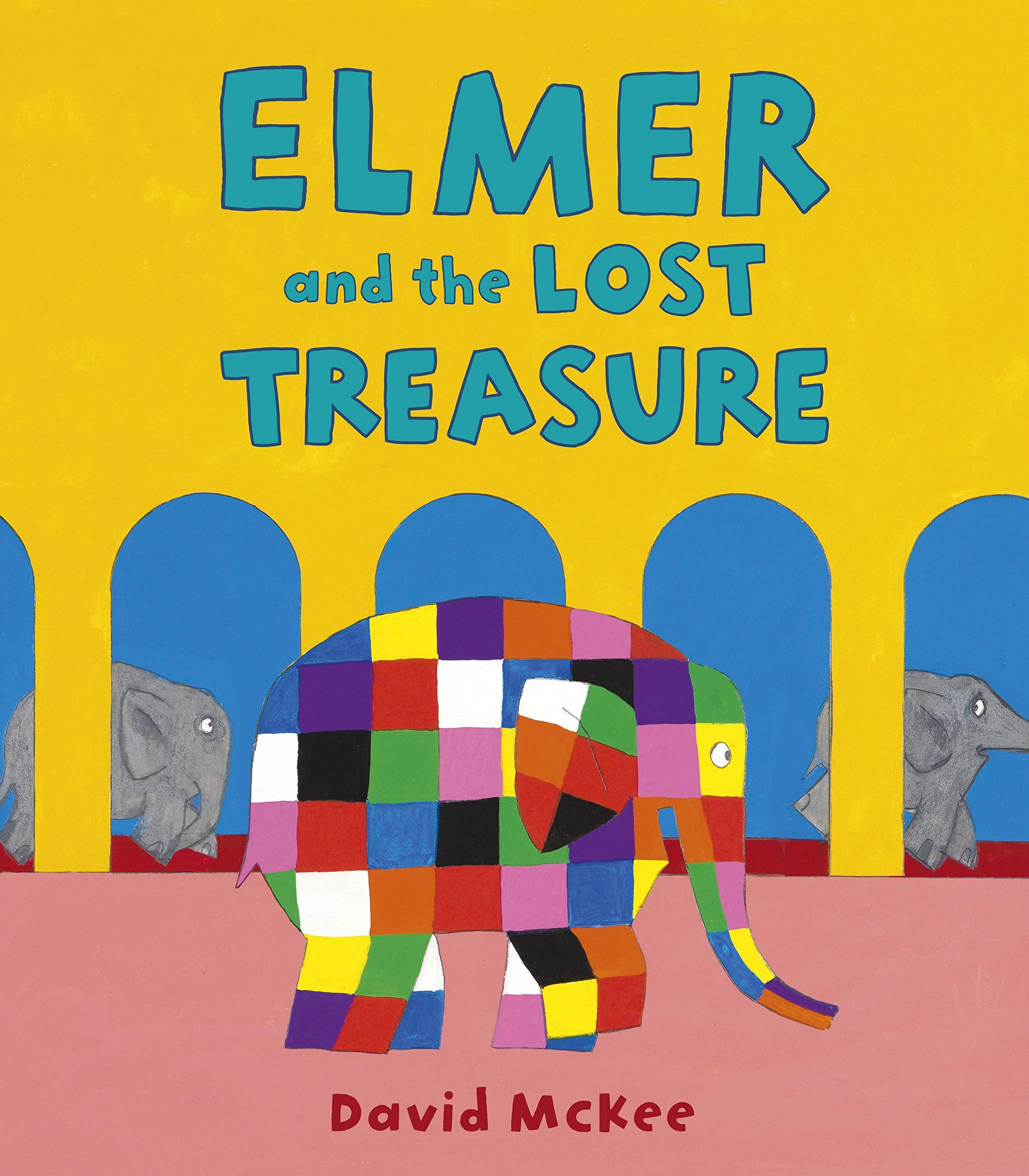 Amazon | Elmer and the Lost Treasure (Elmer Picture Books) | McKee, David | Friendship