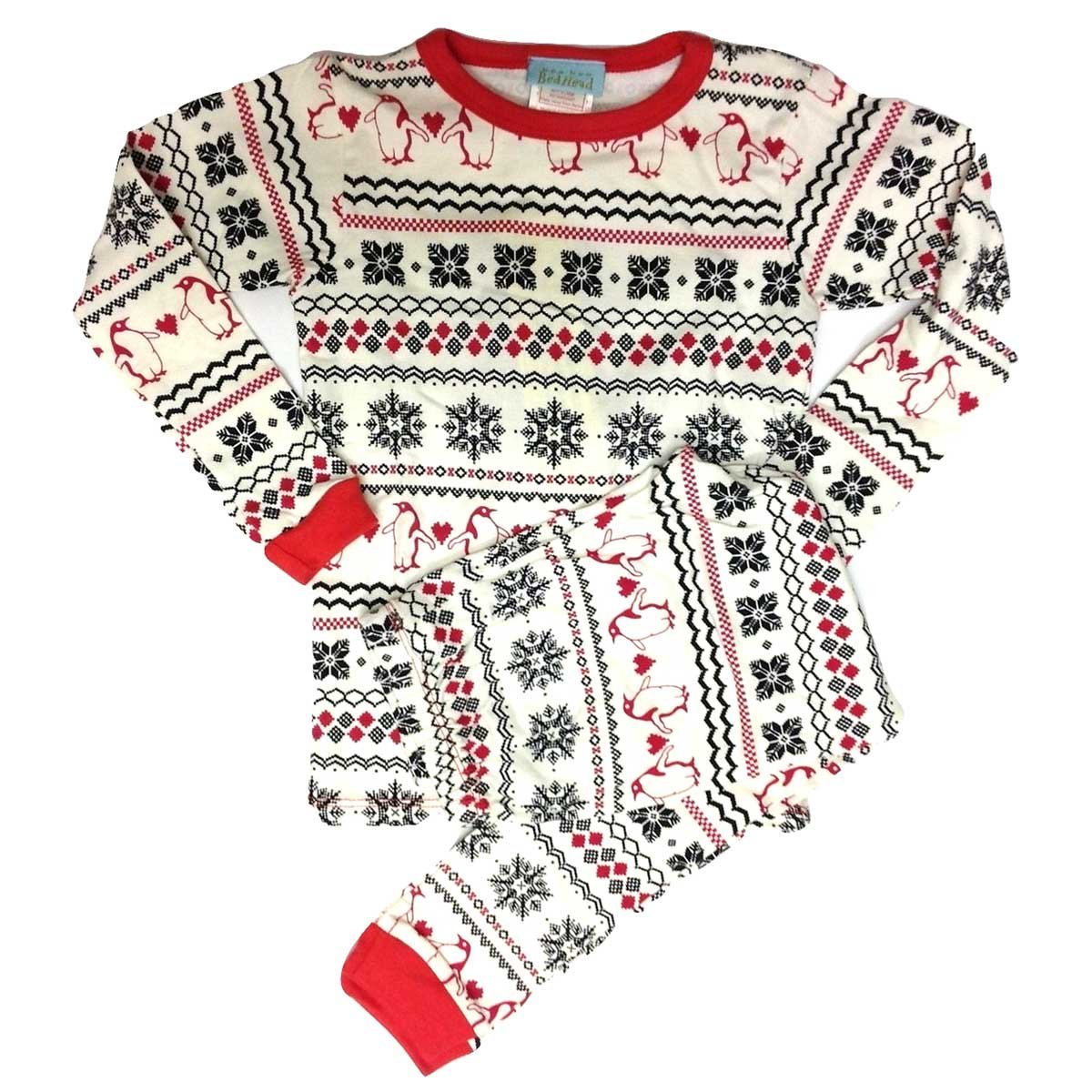 『4年保証』 [BedHead [BedHead 8(130cm) Pajamas (ベッドヘッドパジャマズ)] パジャマ キッズ こども 長袖 ストレッチ ストレッチ Penguin Fairisle 8(130cm) B00PRX18SI, レディースファッション 宮崎商店:c9ec0166 --- a0267596.xsph.ru