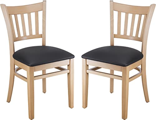 Beechwood Mountain Bsd-4S-N Solid Beech Wood Side Chair