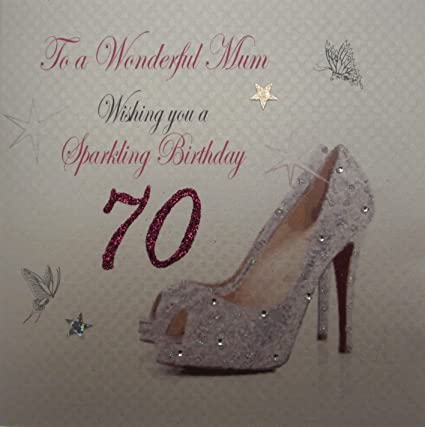 Amazon.com: White Cotton Card To A Wonderful Mum Handmade ...