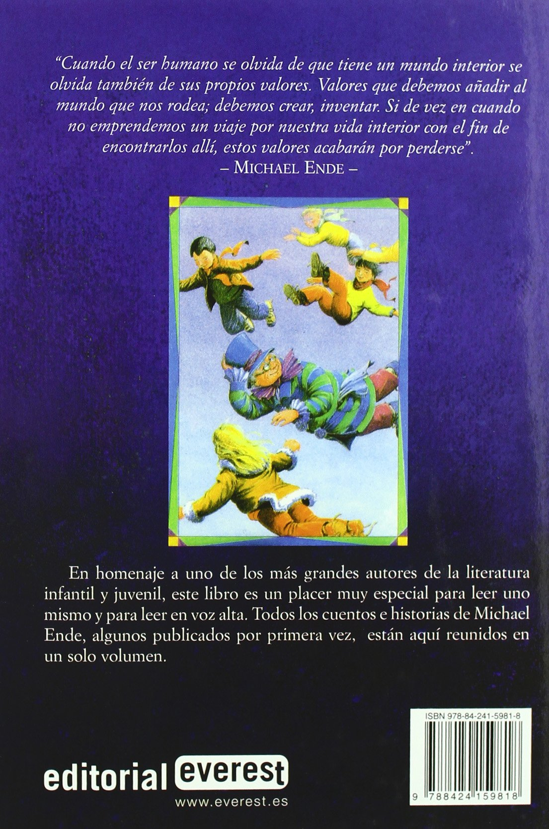 Los Mejores Cuentos De Michael Ende/Michael Endes Best Stories (Spanish Edition): Michael Ende, Bernhard Oberdieck: 9788424159818: Amazon.com: Books