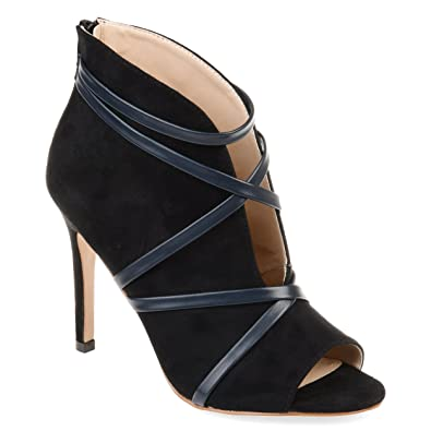 a8da6a5f7723 Amazon.com   Journee Collection Womens Samara Open-Toe Bootie   Boots